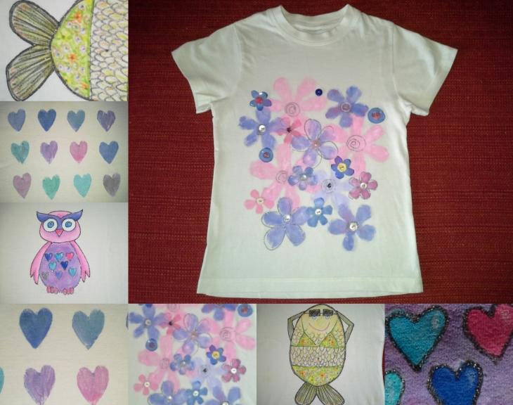 Souvent La primavera da indossare: magliette carine fai da te | Il  JX63