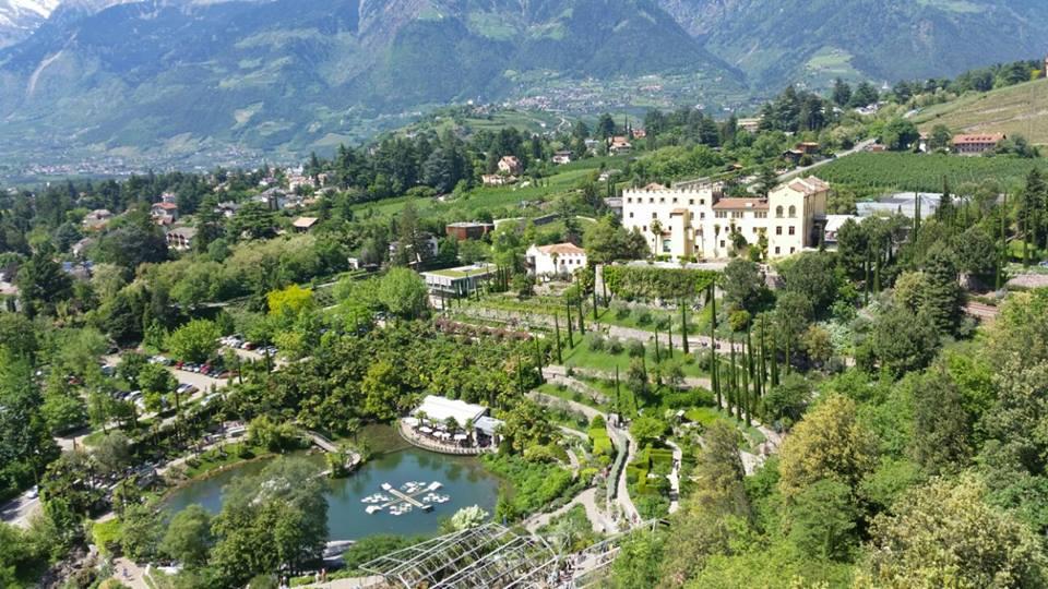 Lo spettacolo dei giardini di sissi a merano il trentino - Giardini mediterranei ...