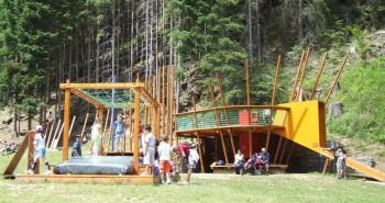 Gioco Parco.foto Parco Stelvio