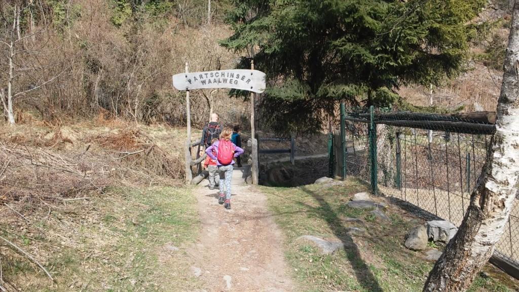 Cascata di Parcines 15 - Trentino dei bambini