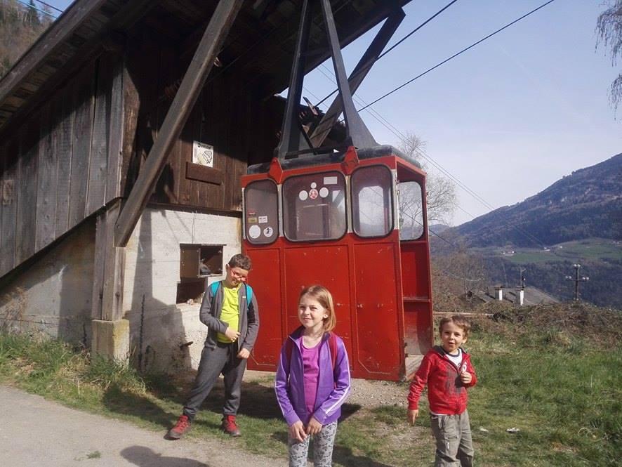 cascata di Parcines - Trentino dei bambini
