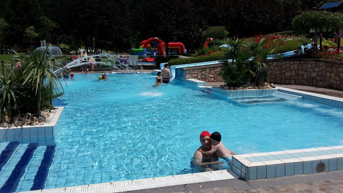 Acquapark molveno il trentino dei bambini - Bambini in piscina a 3 anni ...