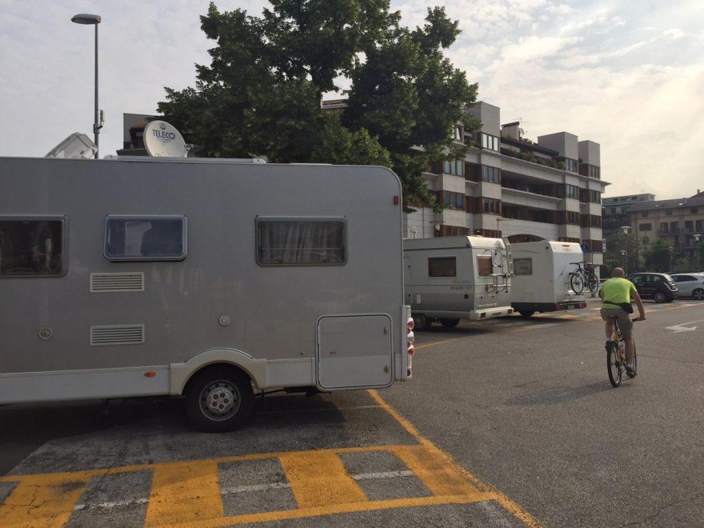 Sosta Camper San Severino