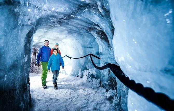grotta di ghiaccio dello Stubai-1