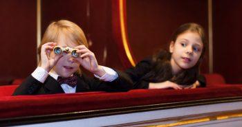 kids watching opera; Shutterstock ID 262527686; PO: maggio
