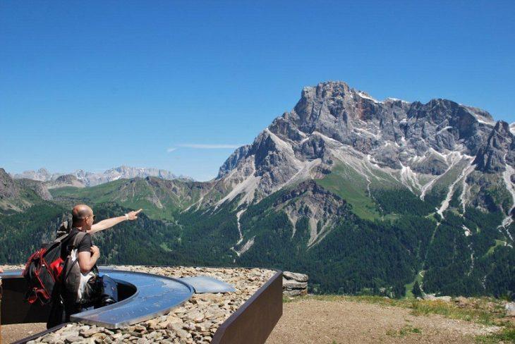 Il balcone panoramico delle Dolomiti | Il Trentino dei Bambini