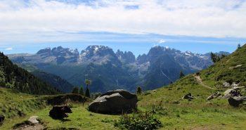 Panorama dal Lago Ritorto-iltrentinodeibambini