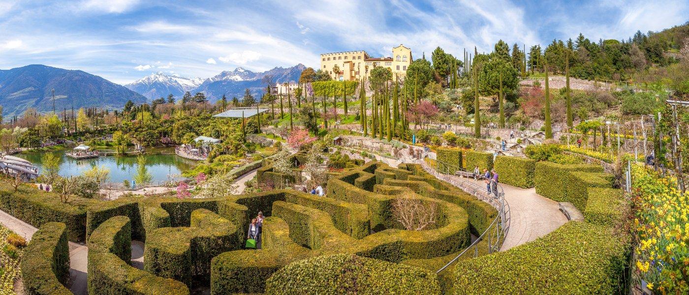 Spettacolo I Giardini Di Sissi A Merano Il Trentino Dei