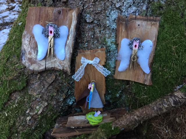 Presepe Con Bastoncini Di Legno : Presepi nel bosco a ziano di fiemme il trentino dei bambini